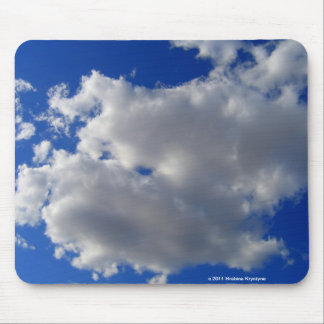 CLOUDS IN A BLUE SKY MOUSE PADS