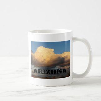 Clouds in Arizona with Saguaro Cactus Coffee Mug