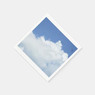 Clouds in Blue Sky Disposable Serviette
