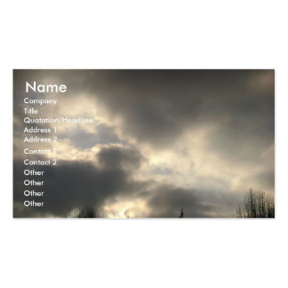 Clouds in Gainesville, GA Pack Of Standard Business Cards