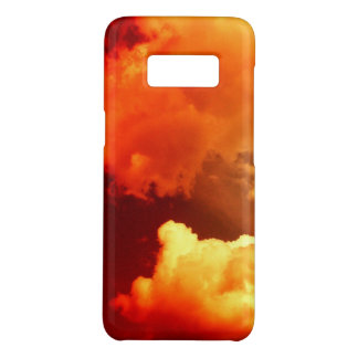 CLOUDS IN ORANGE YELLOW RED SKY Case-Mate SAMSUNG GALAXY S8 CASE