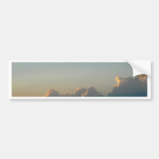 clouds in romania bumper sticker
