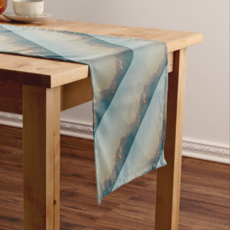 clouds in romania short table runner