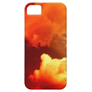 CLOUDS IN THE RED SKY iPhone 5 CASES
