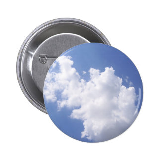 Clouds in the Sky 6 Cm Round Badge