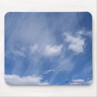 CLOUDS IN THE SKY MOUSEPADS