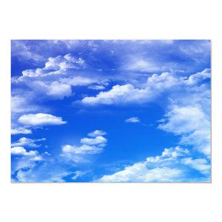 Clouds Invitation
