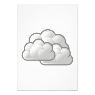 Clouds Personalized Invite
