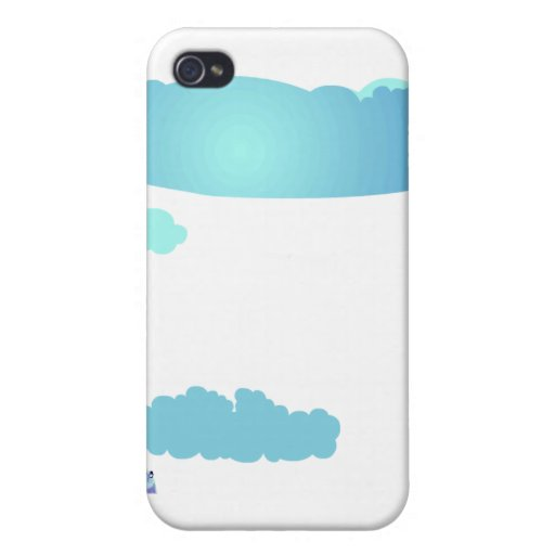 Clouds iPhone 4 Covers