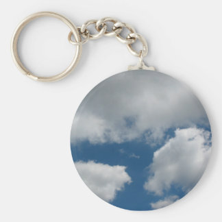 clouds key ring