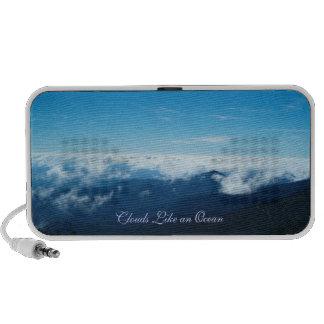 Clouds Like an Ocean Speaker