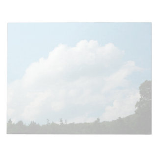 Clouds Meet Trees Notepad