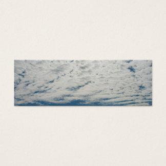 Clouds Mini Bookmark Business Card