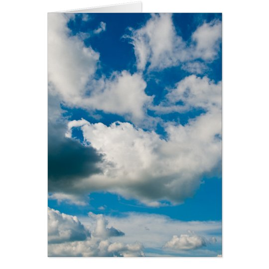 Clouds/ Note Card