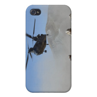 Clouds of dust kicked up by the rotor wash iPhone 4/4S cover