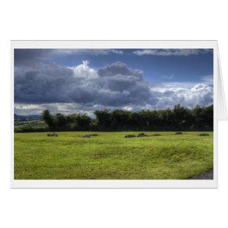 Clouds of Newgrange Card
