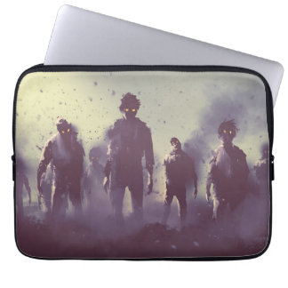 Clouds of Zombies Laptop Sleeve