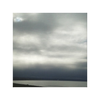 Clouds on Canvas Canvas Print