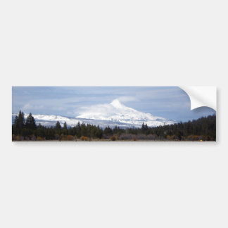 Clouds on Mt. Jefferson Bumper Stickers