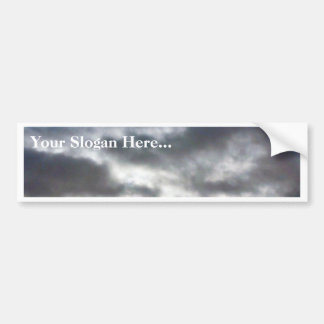 Clouds On Sky Bumper Stickers