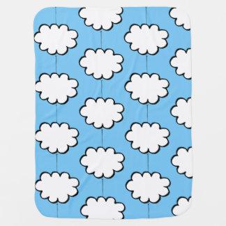 Clouds on Strings Baby Blanket