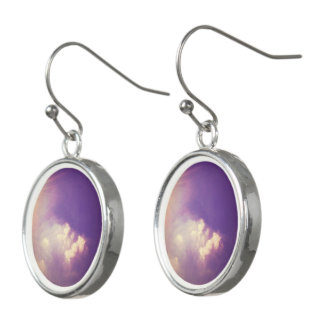 Clouds over Berlin Earrings
