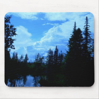 Clouds over campsite in northern Maine. Mouse Mat