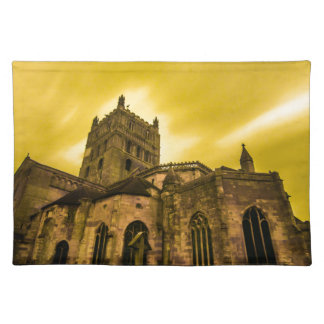 Clouds over Church Placemat