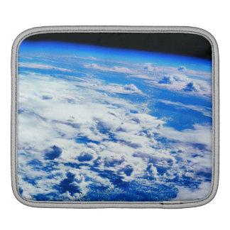 Clouds over Earth iPad Sleeve