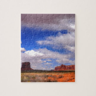 Clouds over Monument Valley, UT Jigsaw Puzzle