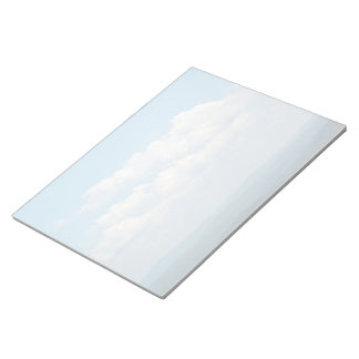 Clouds Over Mountains Notepad
