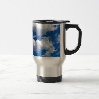 Clouds Peaceful Formations Ocean Beach Coffee Mugs