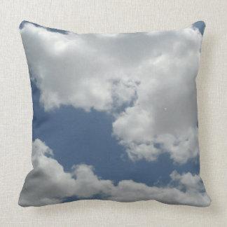Clouds Photo Print Design Cushion