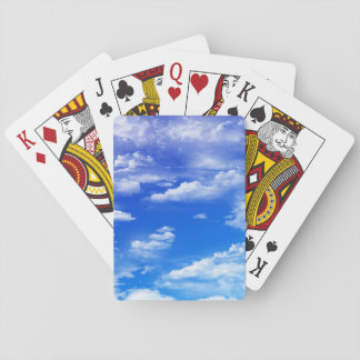 Clouds Playing Cards