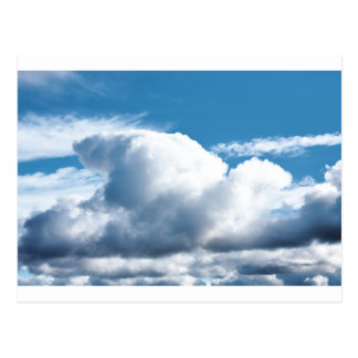 Clouds Postcard