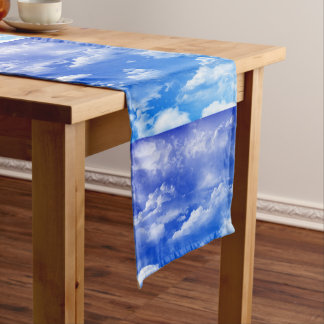 Clouds Short Table Runner