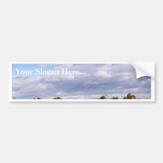 Clouds Sky Bumper Sticker