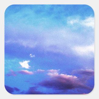 Clouds & Sky Square Sticker