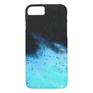 Clouds & Stars Watercolor Effect iPhone 7 Case