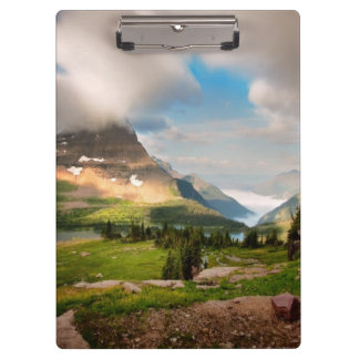 Clouds Sweeping Through Mountains Clipboard