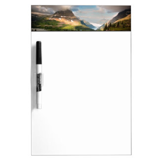 Clouds Sweeping Through Mountains Dry Erase Board