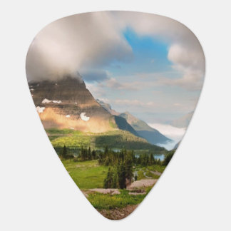 Clouds Sweeping Through Mountains Guitar Pick