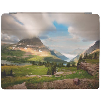 Clouds Sweeping Through Mountains iPad Cover