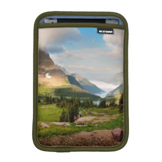 Clouds Sweeping Through Mountains iPad Mini Sleeve