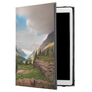 """Clouds Sweeping Through Mountains iPad Pro 12.9"""" Case"""