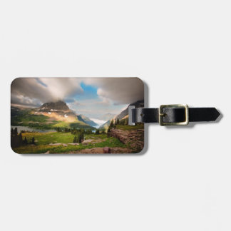 Clouds Sweeping Through Mountains Luggage Tag