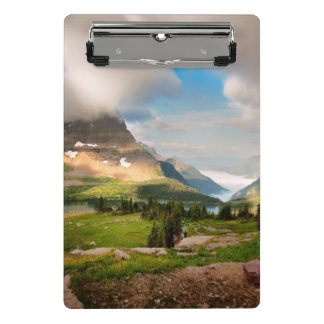 Clouds Sweeping Through Mountains Mini Clipboard