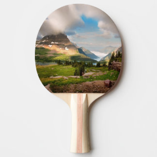 Clouds Sweeping Through Mountains Ping Pong Paddle