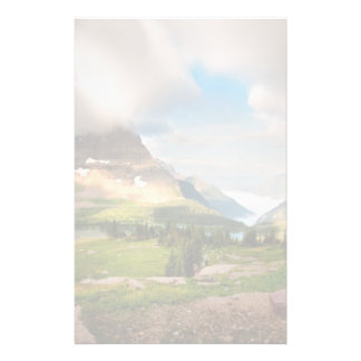 Clouds Sweeping Through Mountains Stationery