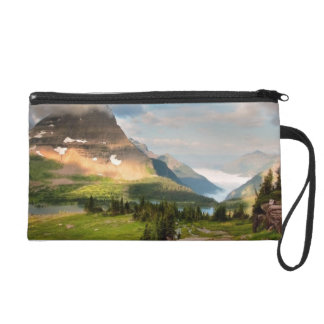 Clouds Sweeping Through Mountains Wristlet